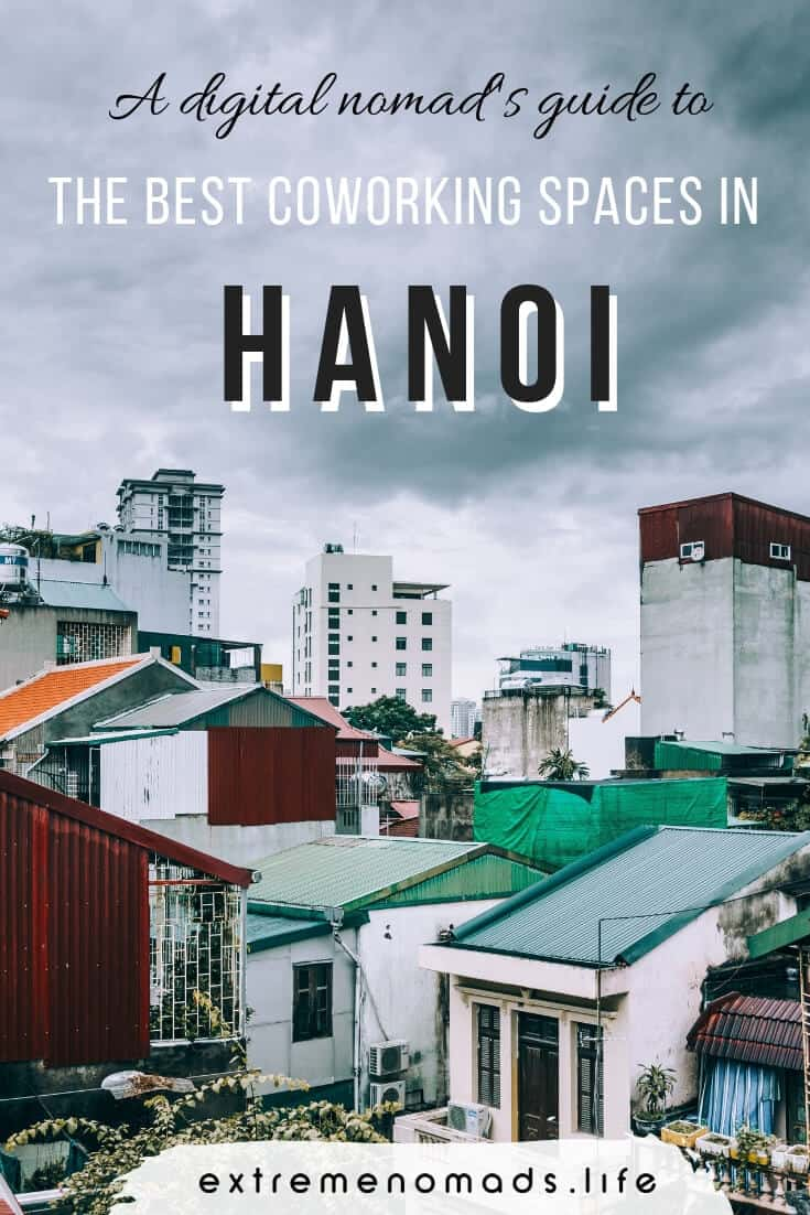 Looking for an awesome coworking space in Hanoi, Vietnam? For all you travelers living the digital nomad lifestyle, check out our selection of 5 coworking spaces in hanoi that you're bound to love. #Hanoi #Vietnam #DigitalNomad