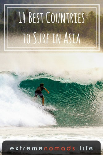 14 Best Countries to Surf in Asia: Ultimate Guide for Surfing Nomads