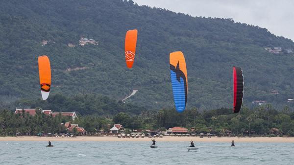 KTA Hydrofoil Series kitesurfing koh samui thailand