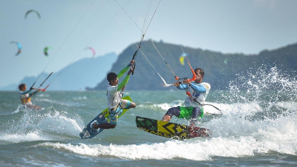 KTA pranburi kitesurfen thailand