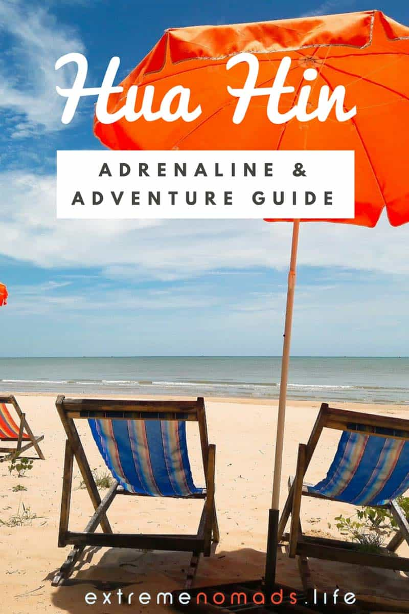 extreme sports outdoor adventure guide hua hin