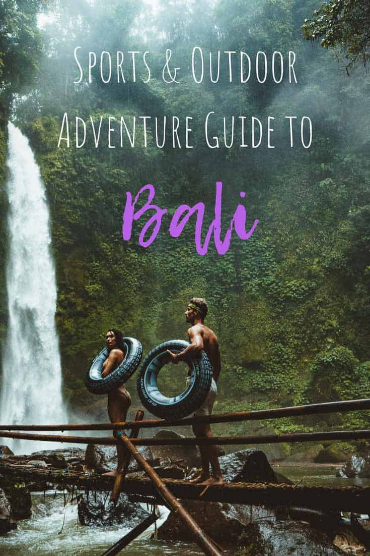 sports outdoor adventure guide bali