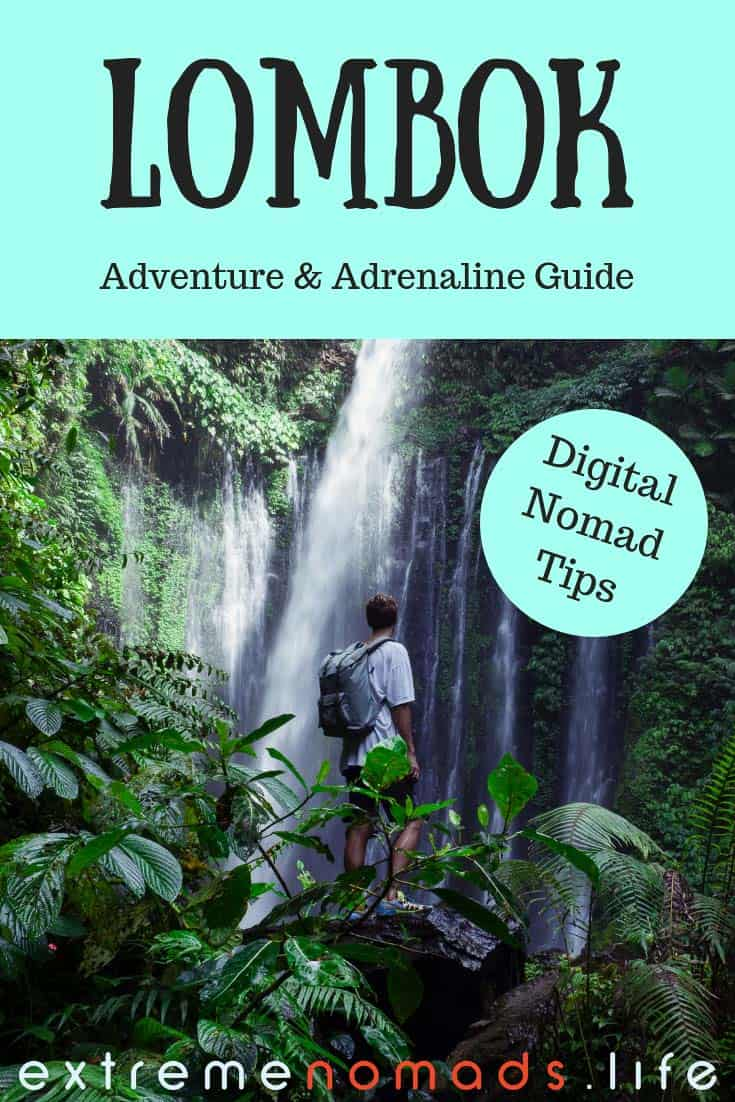 Ultimate Lombok travel guide for adventure travelers and outdoor sports lovers. Discover the top adventurous things to do in Lombok, from hiking Mount Rinjani to surfing the waves in Kuta Lombok. Plus extra info on where to stay in Lombok, as well as digital nomad tips for Lombok travel. #lombok #indonesia #lomboktravel #lombokindonesia #lombokisland
