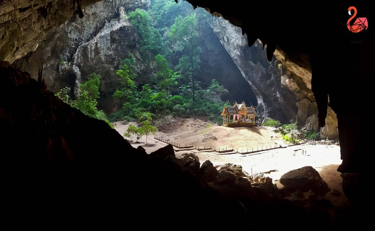 Phraya Nakhon Cave in Khao Sam Roi Yot National Park, Thailand