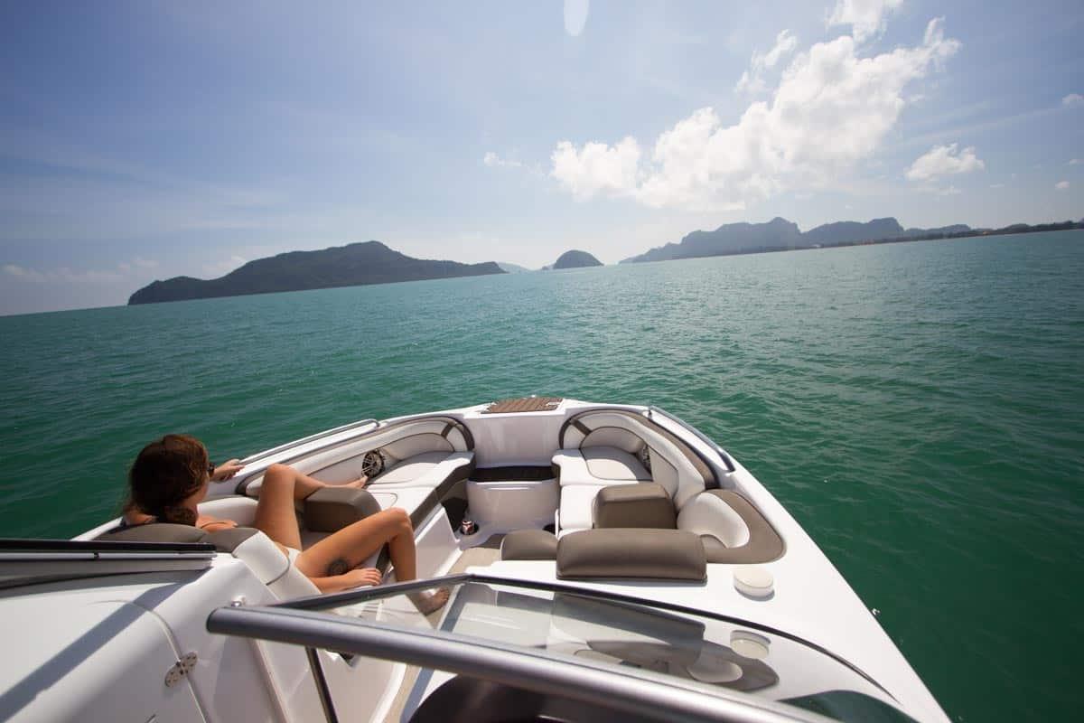 boat trip to Sam Roi Yot national park