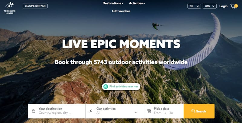 Best Adventure Sports Booking Platforms