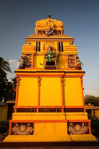 Hindu temple in Kalpitiya Sri Lanka