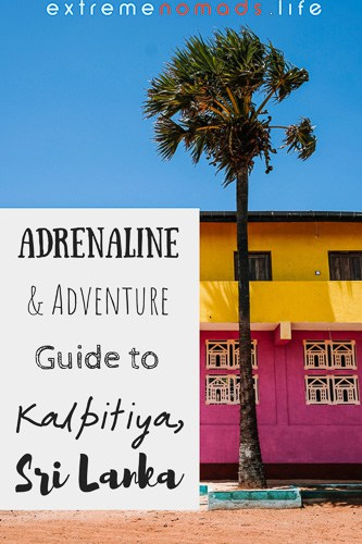 Kalpitiya Sri Lanka travel guide: discover the most awesome, offbeat adventures in Sri Lanka's northwest, like kitesurfing, diving, and soon- wakeboarding! Click the link to read our Kalpitiya travel tips on where to stay, eat, and chill.
