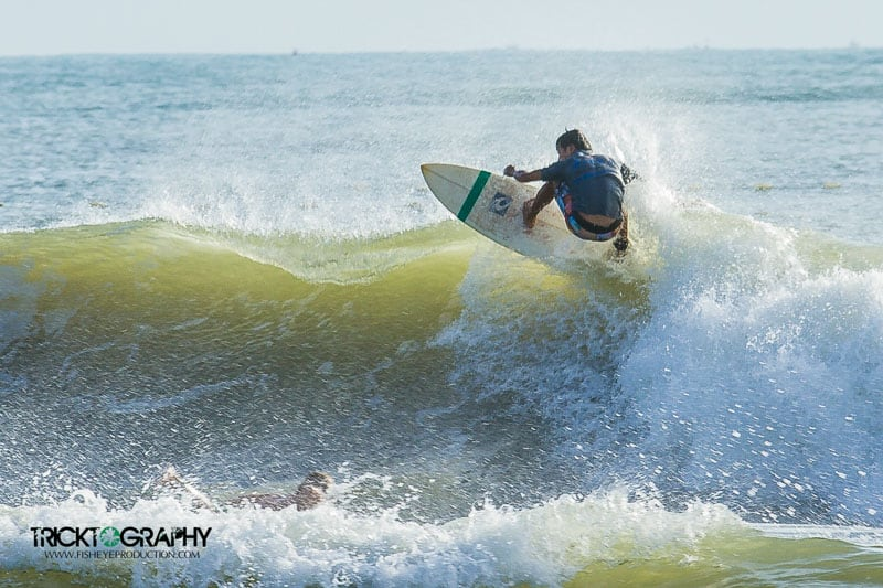 surfing in Mui Ne, Vietnam