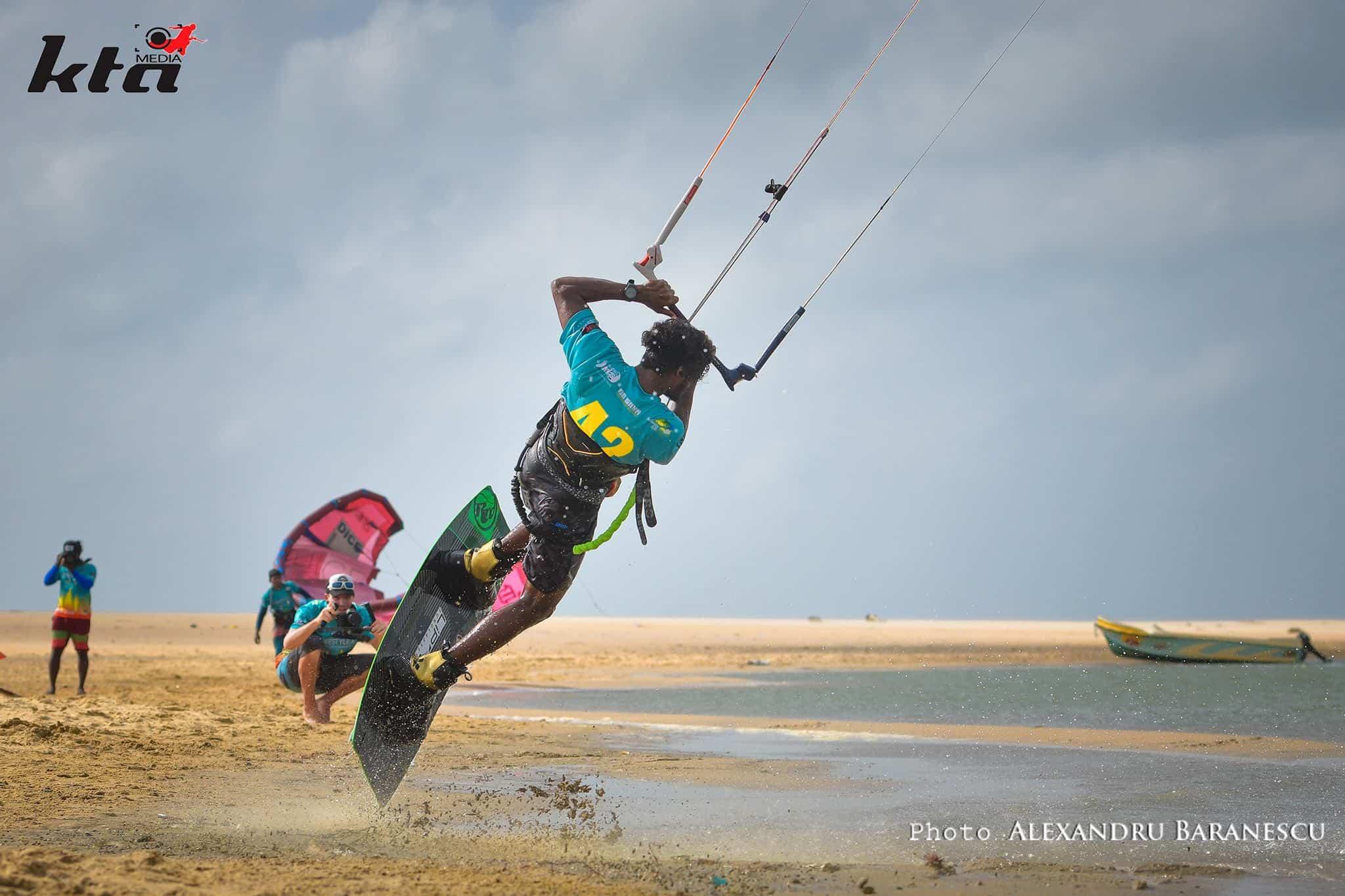 kitesurfen kalpitiya freestyle