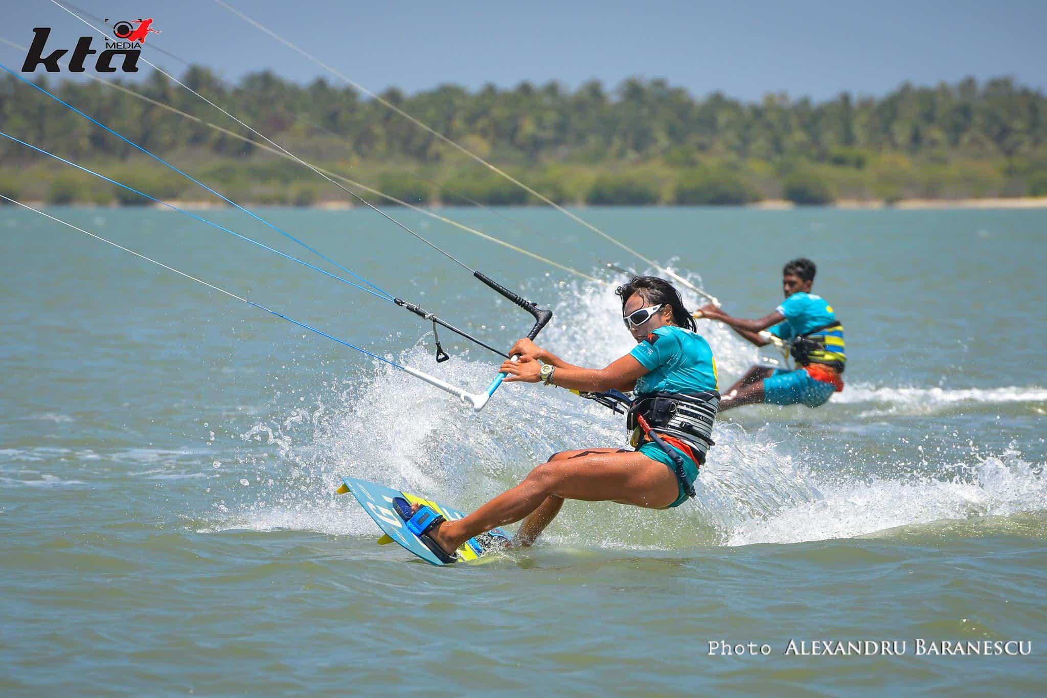kitesurfing kalpitiya race