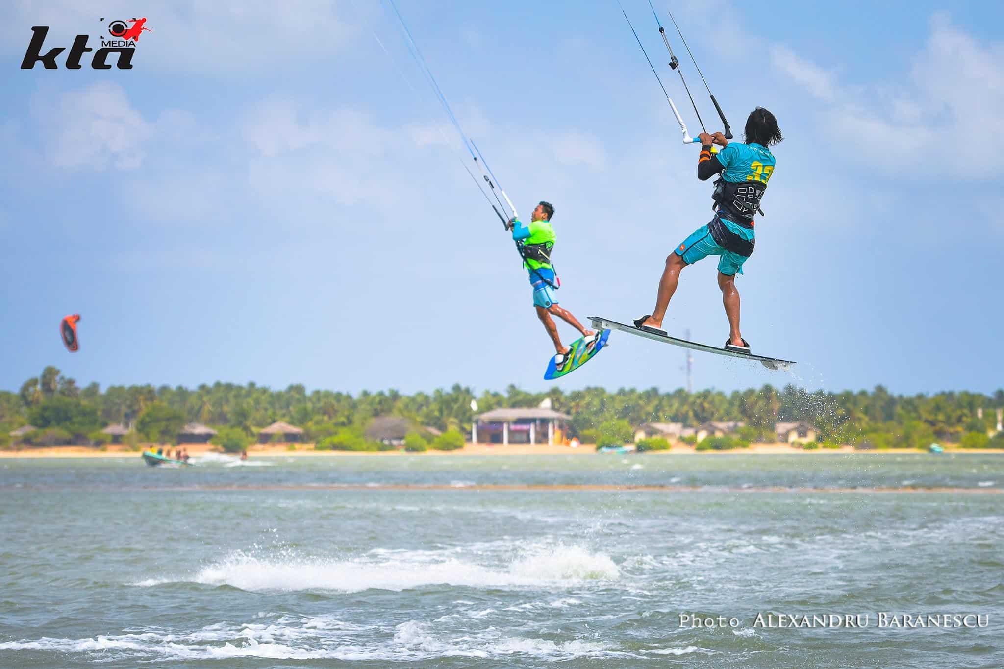 kitesurf en kalpitiya kiteboard tour asie