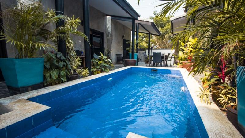 beach house bungalows pool