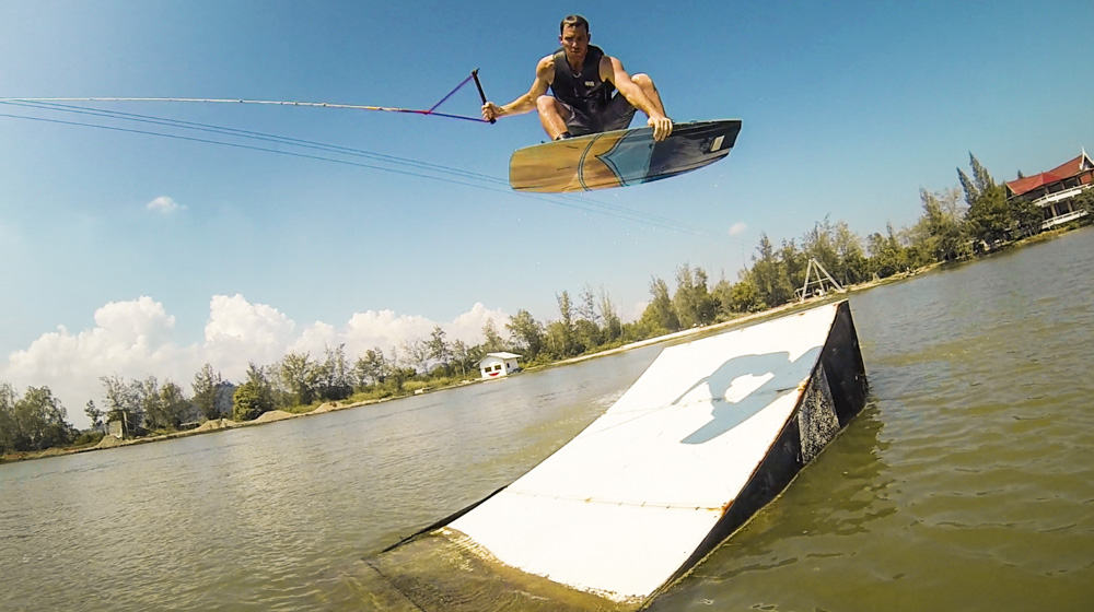 wakeboarding cable park kite cable thailand