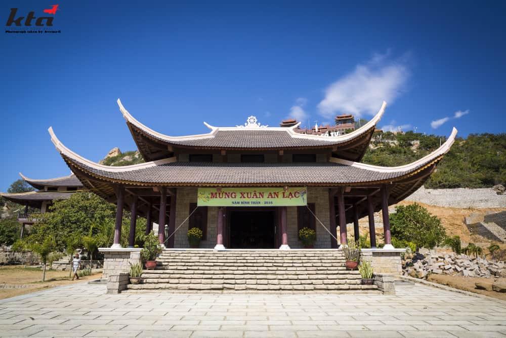 Temple local à Phan Rang, Vietnam