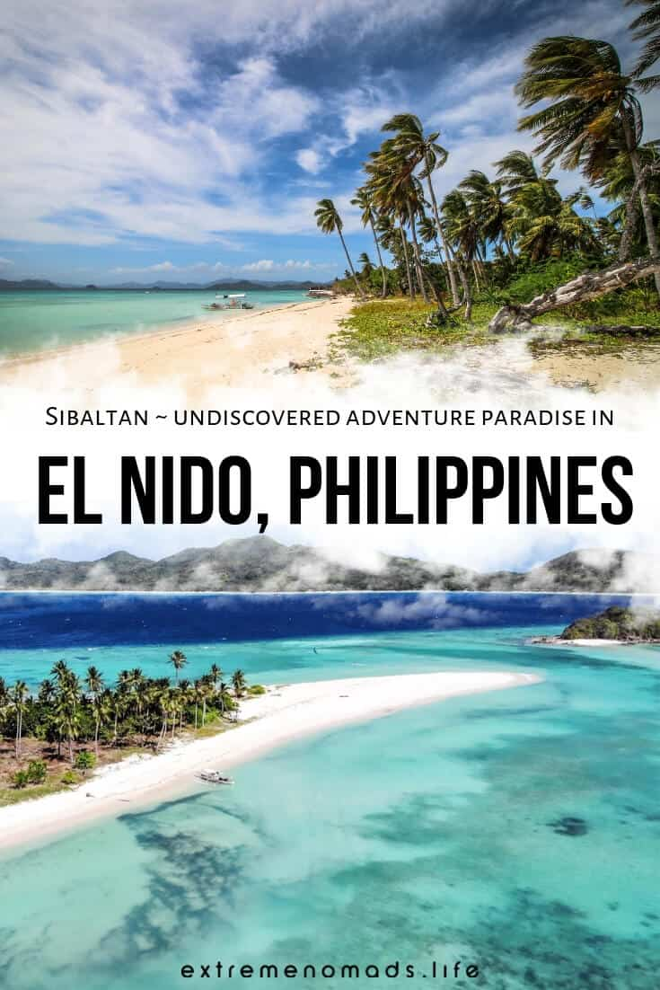 Sibaltan, El Nido, is a small town in the north of Palawan, Philippines. Palawan Island itself has long been known as an epic adventure destination, but if you're keen to discover untouristy and adrenaline-filled corners of the island, Sibaltan should be on your radar. #philippines #asia #adventure #travel