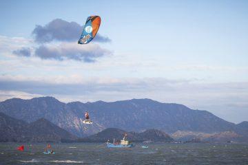 KTA kitesurfing competition in Phan Rang, Vietnam