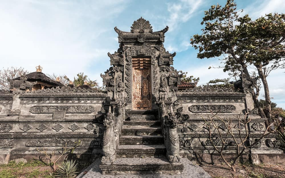 Small temple near Canggu, Bali