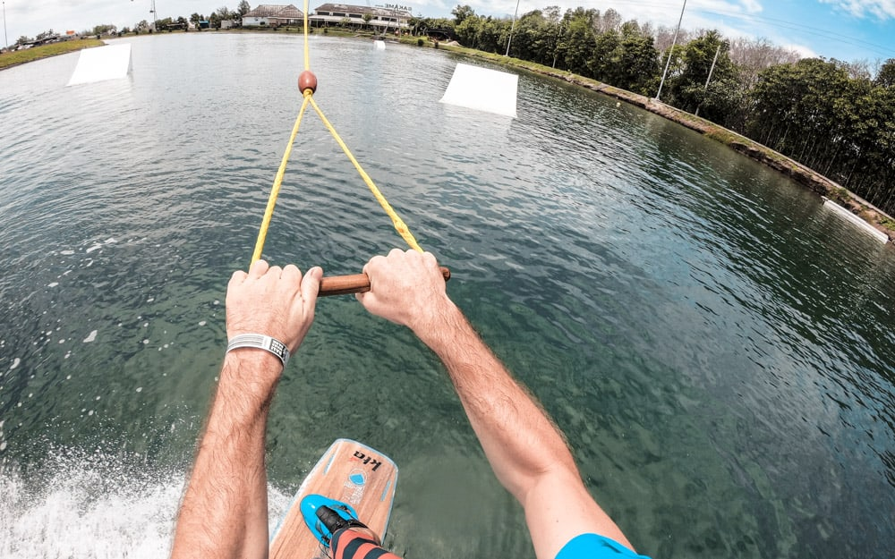 Water sports at Bali wake park
