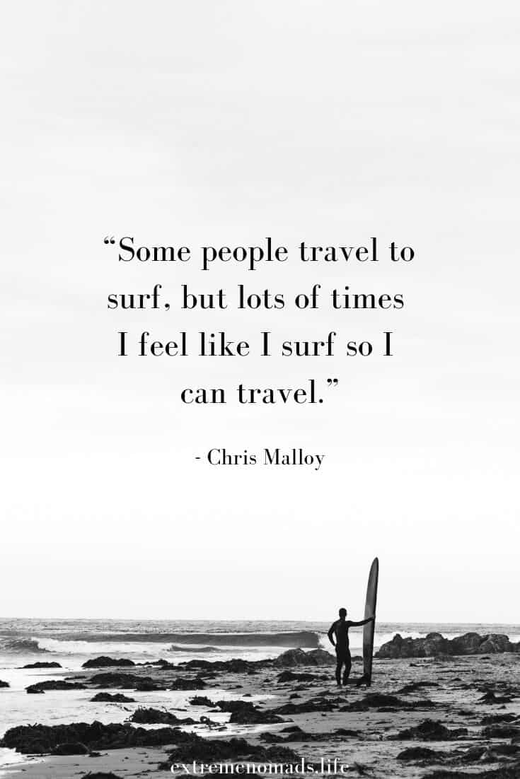 chris malloy surf quote for pinterest