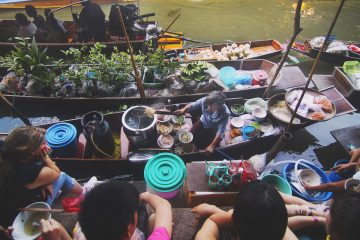 thailand drijvende markten bangkok activiteiten