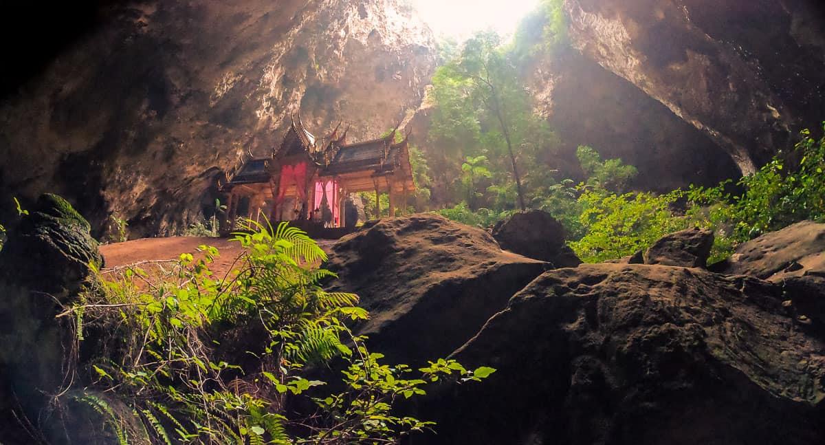 the famous pavilion inside phraya nakhon cave