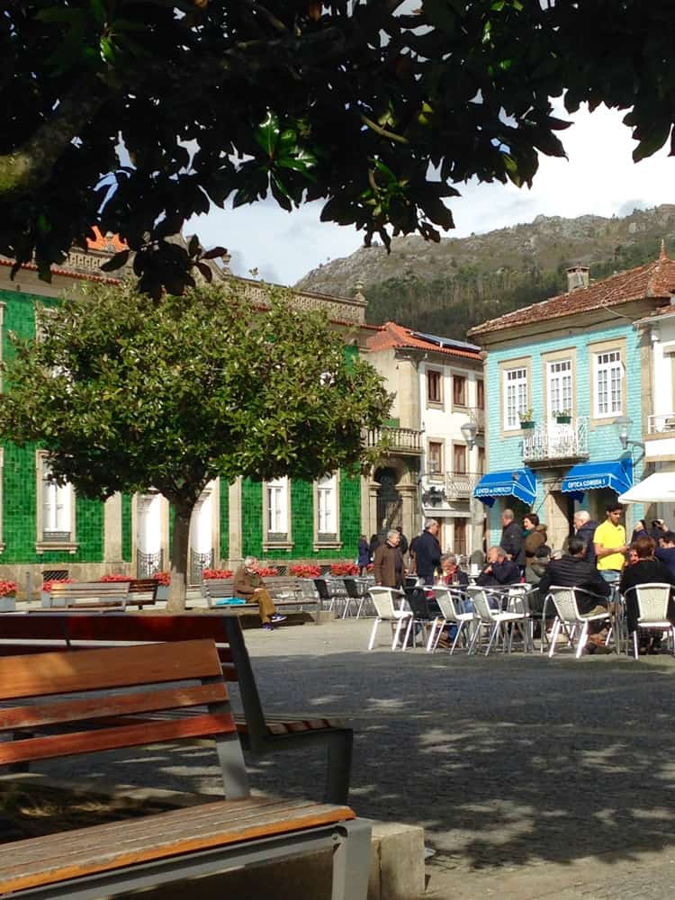 Vila Nova de Cerveira in Portugal