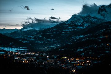 cloud citadel view twilight briancon vallee