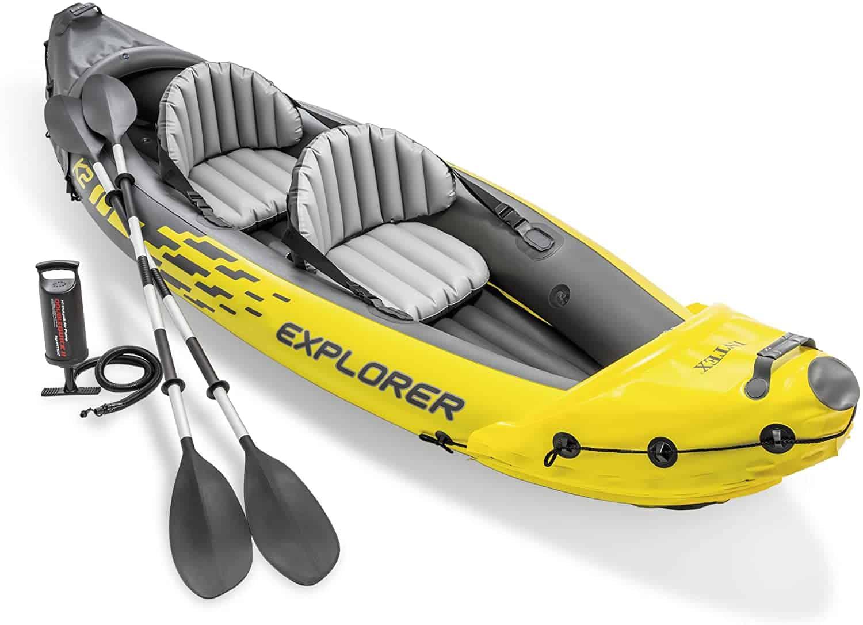 intex explorer inflatable kayaks review